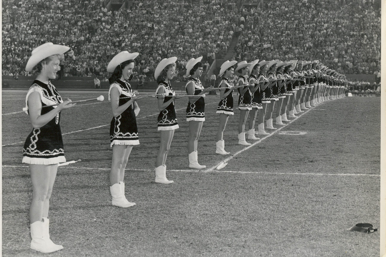 e2k's 49ers entertainment tradition begins. 1948 49ers Majorettes. The first NFL female performing group.