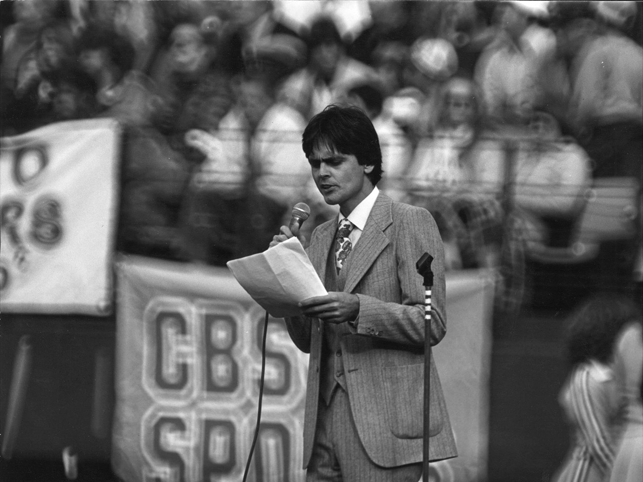 In 1971, Michael Olmstead produced his first Forty Niners halftime show.